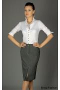 Офисная юбка карандаш Emka fashion | 164-piquadro