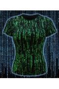 Женская клубная футболка Matrix