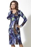 Трикотажное платье TopDesign | B2 086