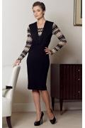 Комбинированное платье TopDesign Premium | PB2 13
