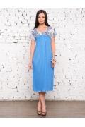 Длинная женская сорочка больших размеров | 1331-18