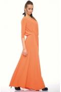 Длинное платье из трикотажа | DSP-89-51t