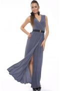 Длинное трикотажное платье Donna Saggia | DSP-90-48t
