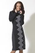 Трикотажное платье TopDesign | B2 120