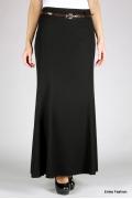 Длинная черная юбка Emka Fashion | 350-klarissa