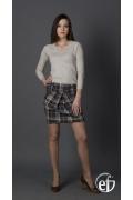 Клетчатая юбка баллон | 134-stacatto2
