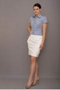 Женская рубашка в полоску Golub | Б546-1831