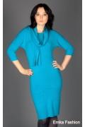 Трикотажное платье Yiky Fashion | 8026
