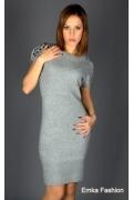 Мягкое платье из ангоры Yiky Fashion | 304407