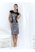 Черно-белое платье TopDesign | A3 096