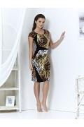 Леопардовое платье Topdesign | A3 162