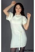 Платье белого цвета | YK004
