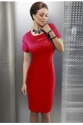 Красное платье Enny | 15017