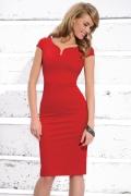 Красное платье Zaps Wiera