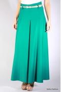 Длинная зеленая юбка Emka Fashion | 288-veton