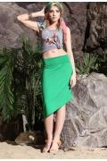 Летняя юбка Apple Dress зеленого цвета | U155Z