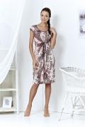 Трикотажное платье TopDesign | A3 093