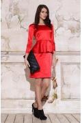 Платье с баской Apple Dress | 321