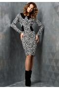 Трикотажное платье TopDesign | B3 011