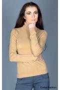 Женский бежевый свитер Yiky Fashion | 8037