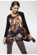 Блузка с принтом Enny 16044