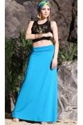 Длинная трикотажная юбка Apple Dress RV117B