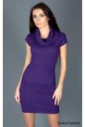 Облегающее трикотажное платье Yiky Fashion | 8001
