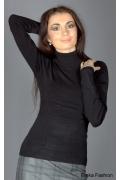 Черный свитер Yiky Fashion | 8037