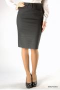 Классическая юбка-карандаш Emka Fashion 211-bekka