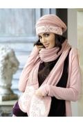 Шапка + шарф-варежки Kamea Luba