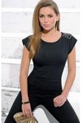 Черная блузка Zaps Daniela