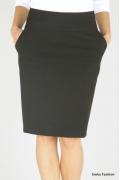 Недорогая черная юбка Emka Fashion 212-aisha