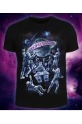 Мужская футболка Dancing Galaxy