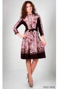 Платье-полусолнце Golub П237-1678