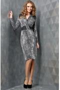 Облегающее платье TopDesign B3 036