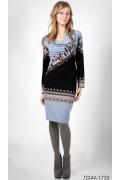 Трикотажное платье Golub П244-1733