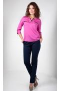 Блузка цвета фуксия Golub Б915-1623-986