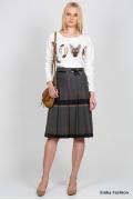 Клетчатая юбка Emka Fashion 219-70/dinara
