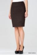 Теплая шерстяная юбка Emka Fashion 326-erin