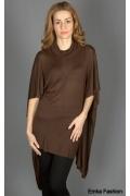 Трикотажное платье-туника Yiky Fashion | 111208