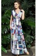 Длинное летнее платье TopDesign Premium PA3 16