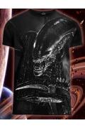 Мужская футболка Alien 2 (Светится в темноте и уф.)