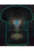 Мужская футболка Alien Mind (Светится в темноте и уф.)