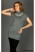 Простое но изящное платье-туника | 111204