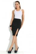 Черная юбка-карандаш Donna Saggia DSU-18-4t