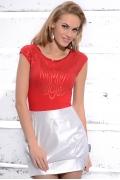 Красная блузка Zaps June