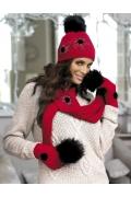 Комплект шапка+шарф Kamea Agata