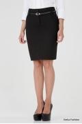Простая офисная юбка Emka Fashion 403-brianna