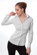 Приталенная офисная блузка | Б641-853