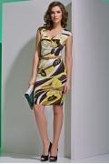 Летнее изящное платье TopDesign A4 050